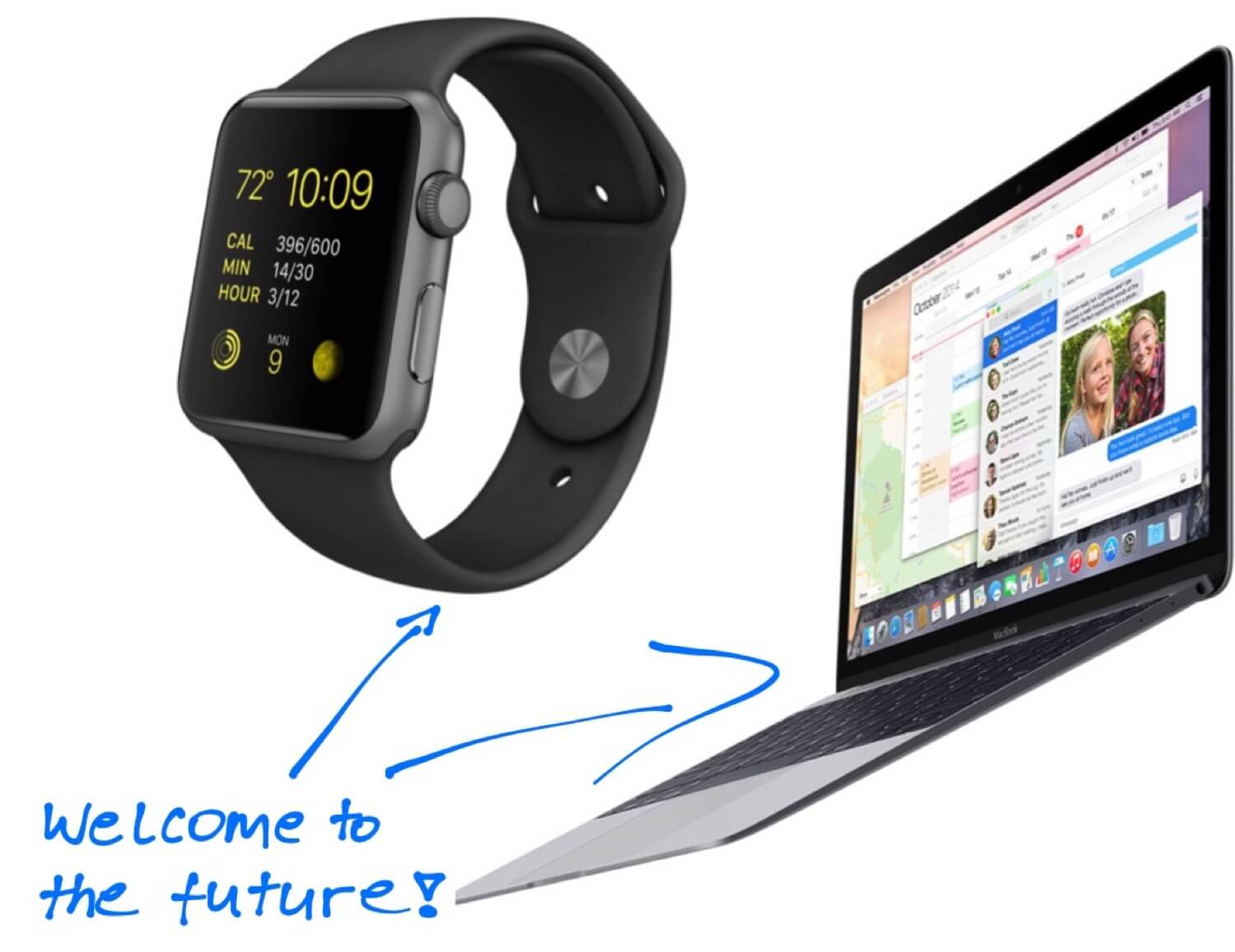 The polarizing Macbook, tempting Apple Watch and… one more thing.
