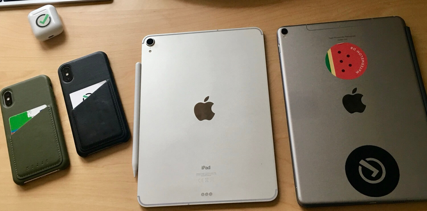 "Quirks and issues when migrating to a new iOS device (case of iPad Pro 11"" & iPhone XS)"