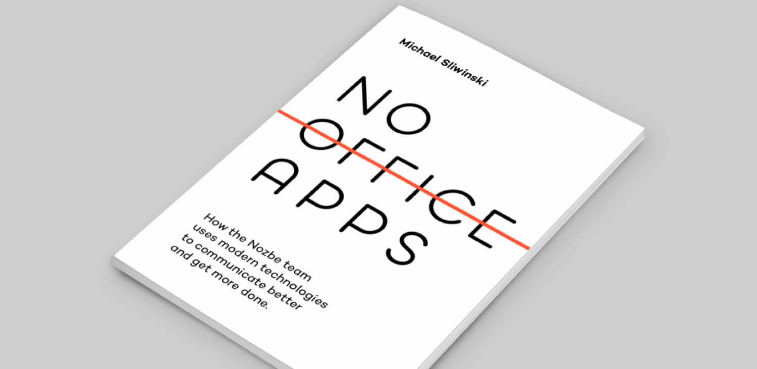 E-book launch: No Office Apps - how to communicate effectively with a team using the latest apps