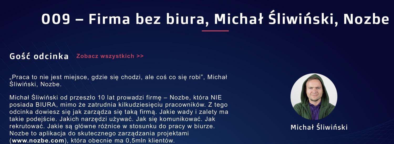 Piotr Bucki - Biznes w IT - 009 – Firma bez biura