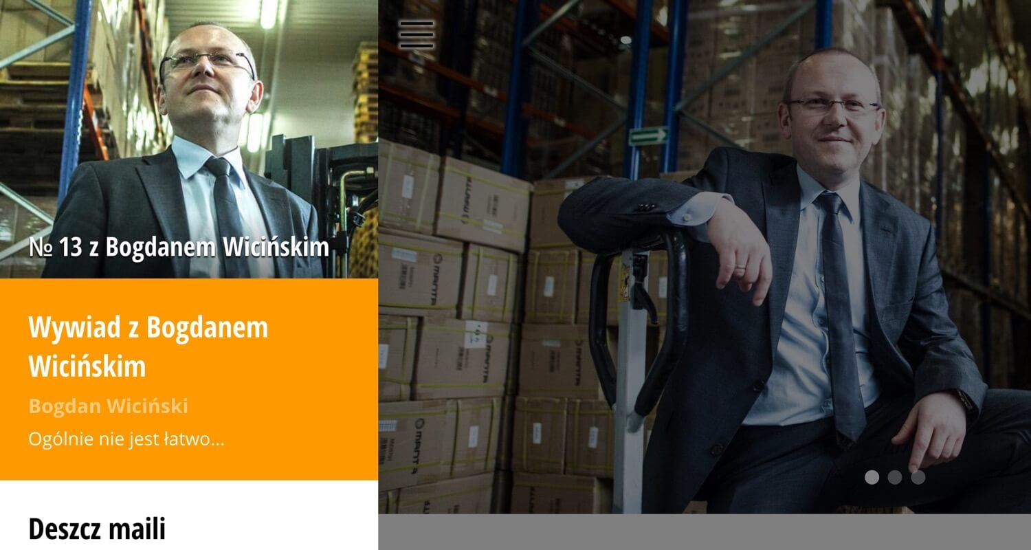 How to deal with Chinese providers, manage family life and productivity - my interview with Bogdan Wicinski (in Polish) [for the: Productive! Magazine Poland issue 13]