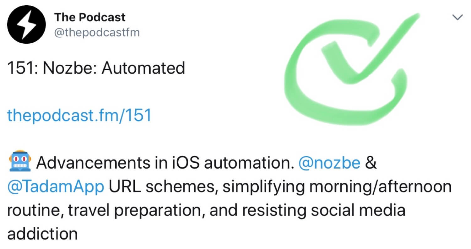 The Podcast #151 - Nozbe: Automated