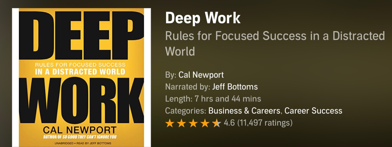 The Podcast #46 - Deep Work