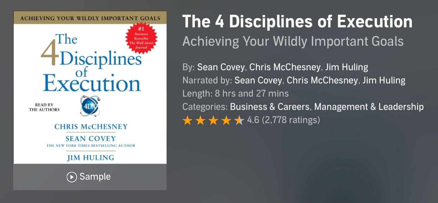 The Podcast #50 - Four Disciplines