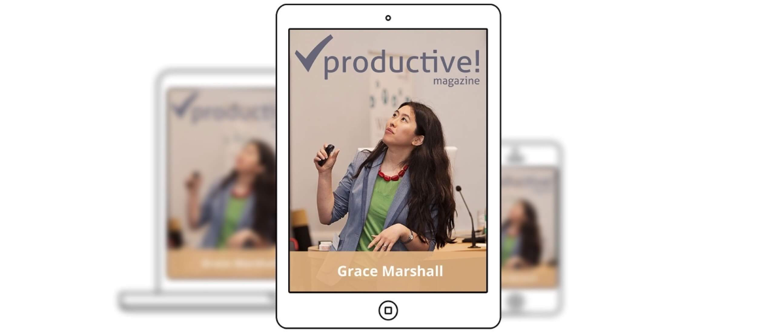 Workflow optimization - intro to Productive! Magazine No.31 with Grace Marshall