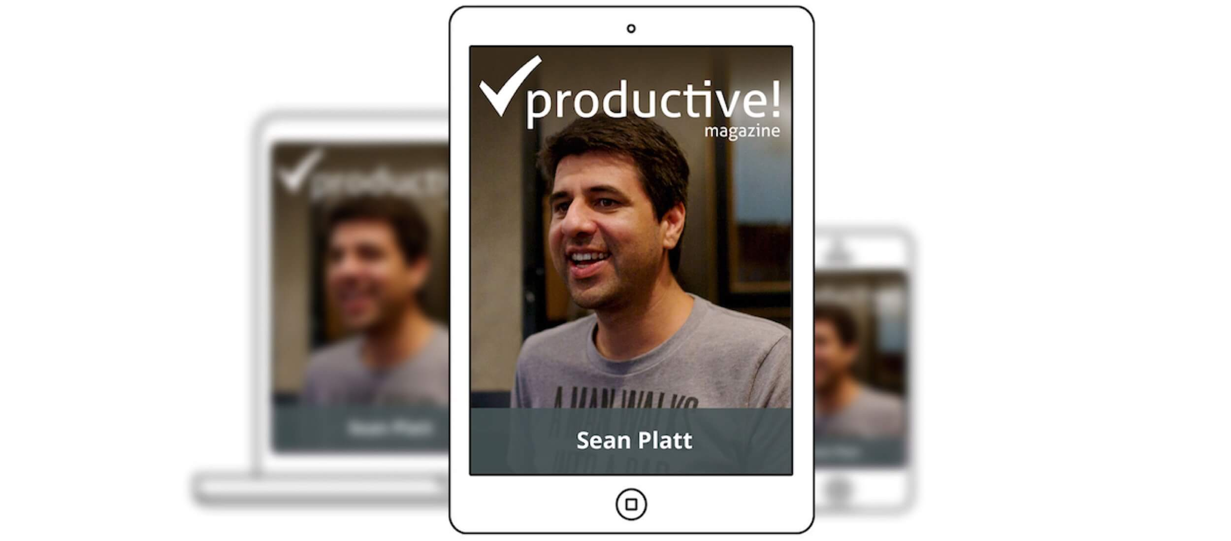 Get focused in 5 simple steps - intro to Productive! Magazine No.32 with Sean Platt