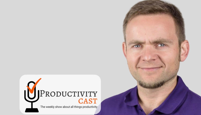 On ProductivityCast about Nozbe Teams