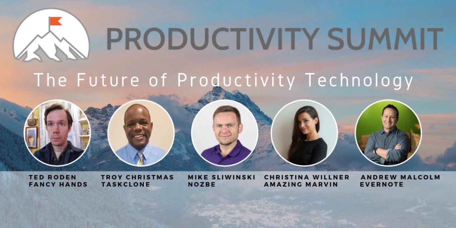 Productivity technology and more at the Productivity Summit 2019