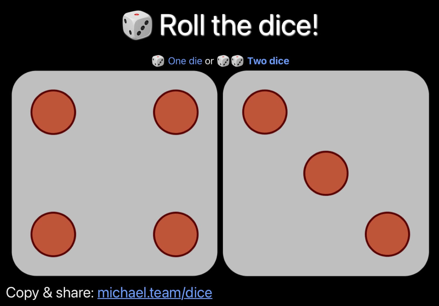 Rolling the virtual dice when playing board games! 🎲🎲
