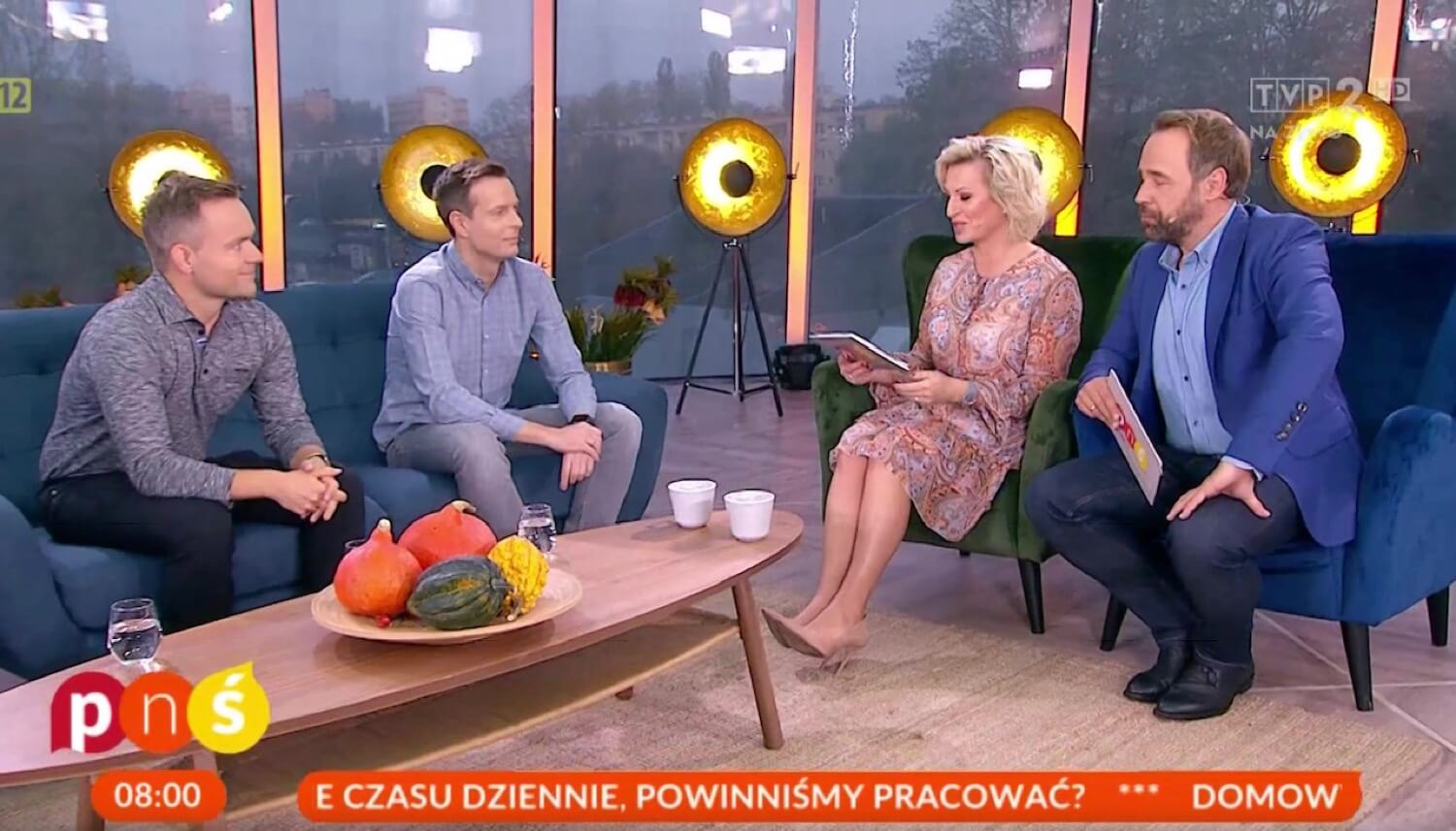 TV appearance! Nozbe's TGIF - Thank Goodness It's Friday on Polish national television - how to work smarter?
