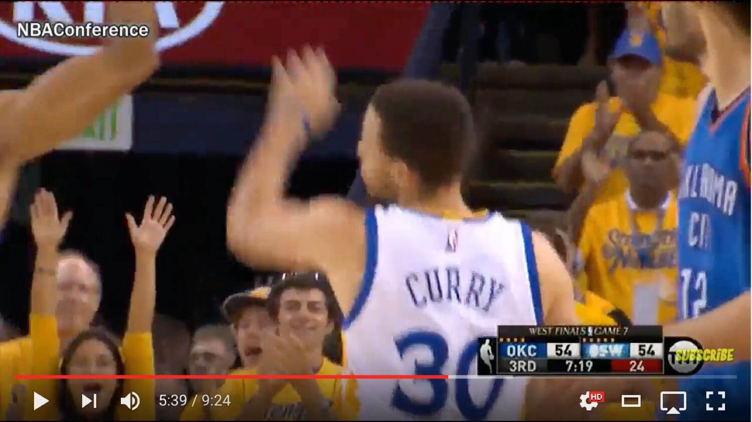 Lessons on humility and hard work from the Warriors vs Thunder basketball playoffs battle