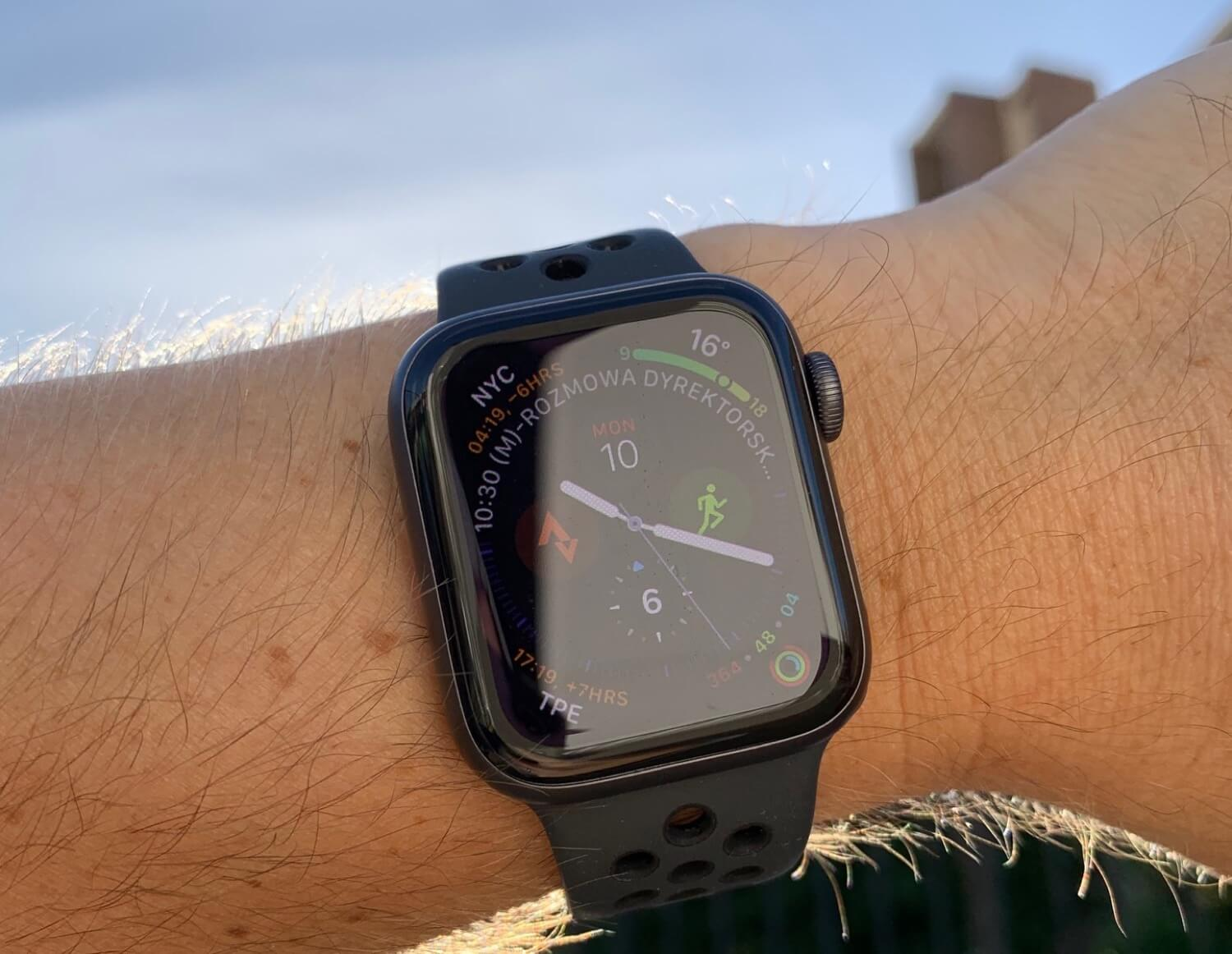 5 things I love about the Apple Watch series 4 after just a day of using it!
